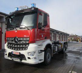 Neues Fahrzeug – WLF