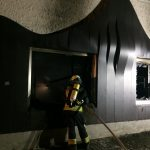 Brand Geschäftsgebäude Wallersdorf