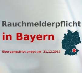 Rauchmelderpflicht in Bayern