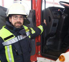 Tobias Reichl ist zweiter Kommandant