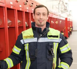 Die neuen Mannschaftssprecher der Feuerwehr Plattling