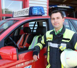 Kommandant Florian Loibl übernimmt das Kommando in der Feuerwehr